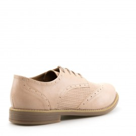 Nude Δετά Oxfords