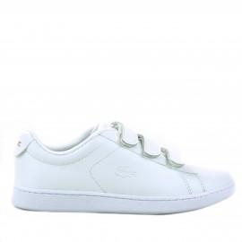 Λευκά Δερμάτινα Scratch Sneakers Lacoste