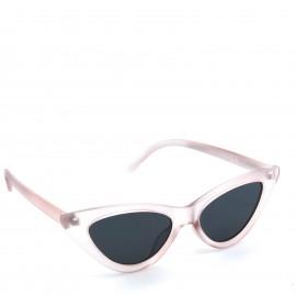 Ρόζ Γυαλιά Ηλίου με Μαύρο Φακό