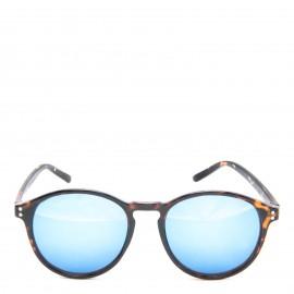 Λεοπάρ Γυαλιά Ηλίου με Μπλε Καθρέφτη Φακό