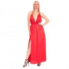 Κόκκινο Πολυμορφικό Maxi Φόρεμα