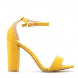 Κίτρινο Πέδιλο με Λουράκι