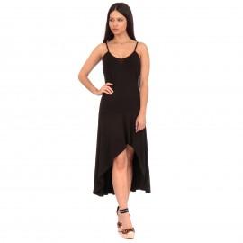 Μαύρο Midi Φόρεμα με...