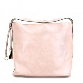 Ροζ Τσάντα Ώμου με...