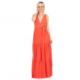 Κόκκινο Αμάνικο Maxi Φόρεμα...