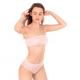 Nude Strapless Μπικίνι Μαγιό