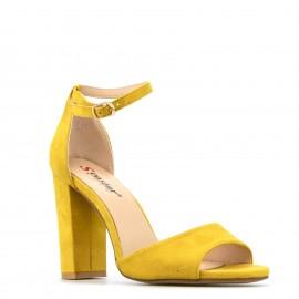 Κίτρινο Σουέτ Πέδιλο με...