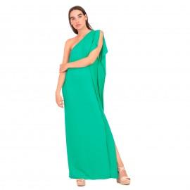 Πράσινο Maxi Φόρεμα με Έναν...