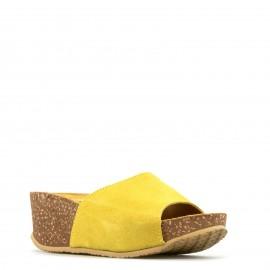 Κίτρινη Δερμάτινη Ανατομική...