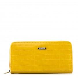 Κίτρινο Κροκό Πορτοφόλι...