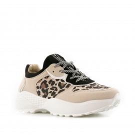 Μπέζ Καστόρινα Sneakers με...